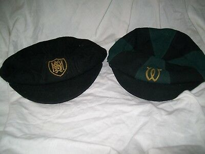 cc41 1940's school / cricket caps