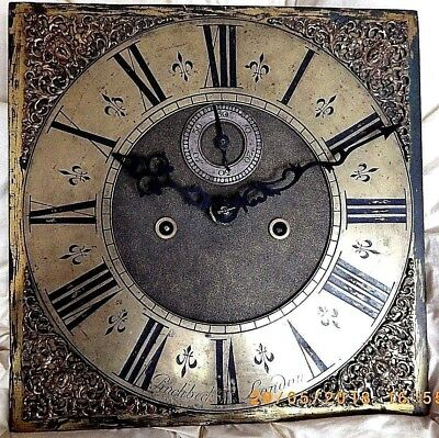 Rare Early Georgian Clock Movement Christopher Pinchbeck  London  For A Charity