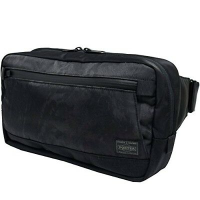 3616b468b8 NEW YOSHIDA PORTER DARK FOREST WAIST BAG(L) 659-05147 Black tracking From
