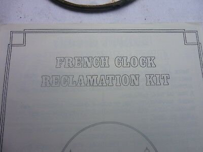 French Clock reclamation kit
