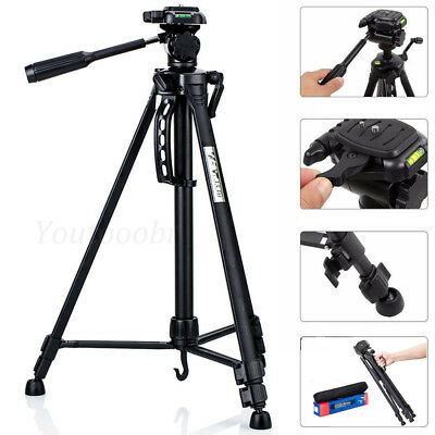 Professional WEIFENG Aluminium Portable Travel Camera Tripod For Canon Camcorder
