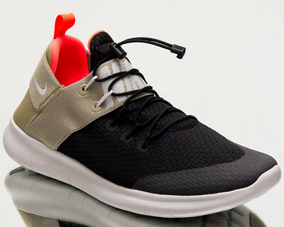 c1d4eb6fd871b Nike Free RN Commuter 2017 Men Running Shoes Mens Black Grey Olive 880841- 008