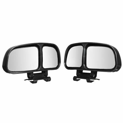 2Pcs Universal Car Adjustable Expand Wide Angle Blind Spot Rear View Mirror G8P9
