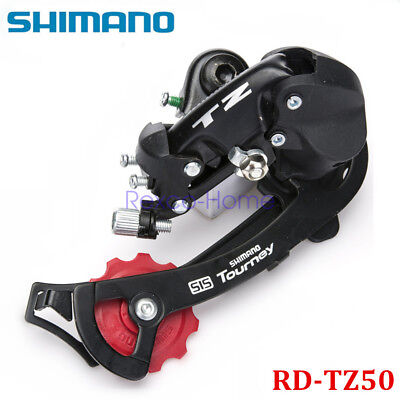 SHIMANO Tourney RD-TZ50 Rear Derailleur 6/7 Speed Direct Mount Long Cage