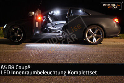 LED Innenraumbeleuchtung SET für Audi A5 B8 Coupé - Pure-White