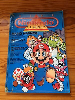 Club Nintendo Classic Magazine 1990 - collectable and rare