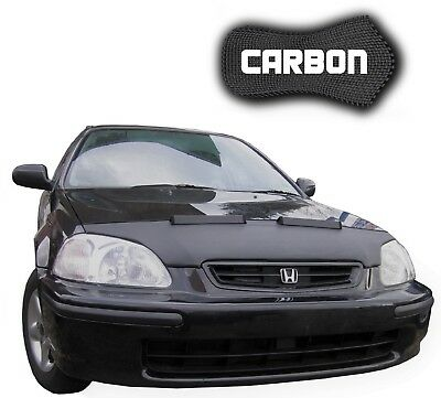 Bonnet Bra Honda Civic 6 CARBON Car Mask Hood Cover Front End protection NEW