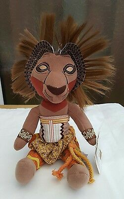 Disney The Broadway Musical The Lion King Simba Plush Soft Toy with tags
