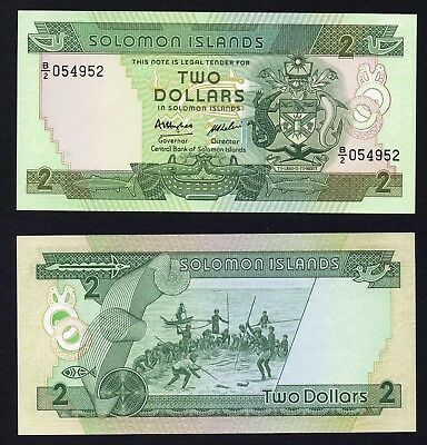 Isole Solomone / Solomon Islands - 2 dollars 1986 FDS/UNC  A-10