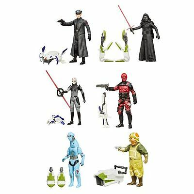 Star Wars: The Force Awakens 3 3/4-Inch Jungle and Space Action Figures