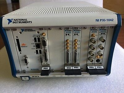 Ni Pxi-1042 Chassis Loaded With Pxi 6541 X 2, Pxi 8196, Pxi 5122, Pxi 4461