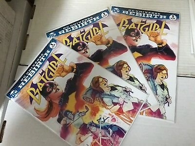 BATGIRL (2016 DC Rebirth) #1 A NM 1st Print Batman Birds of Prey Silencer