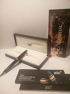 Mont Blanc Meisterstück Red Gold-Coated Classique Ballpoint PenMontblanc