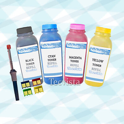 1Set Non-OEM Toner Refill for CB540A-43A for use in HP CP1215 CP1515n CP1518ni
