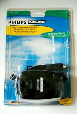 AUDIO PHILIPS MAGNAVOX CD PLAYER POWER ADAPTER for PM62051 - New no cassette .