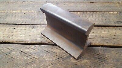 Railroad Track blacksmith Anvil 43lbs Work Hardened Steel