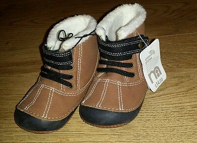 Mothercare Baby boy crawling shoes size infant 4 (EUR 20) NEW