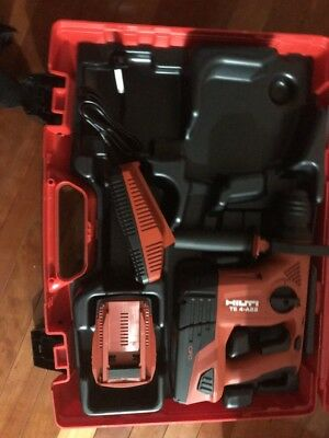 HILTI TE4-A22 CPC 21.6-volt Cordless Rotary Drill W/.2 Batteries and charger New