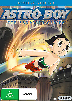 BRAND NEW Astro Boy : The Complete Series (DVD, 2018, 4-Disc Set) *PREORDER R4