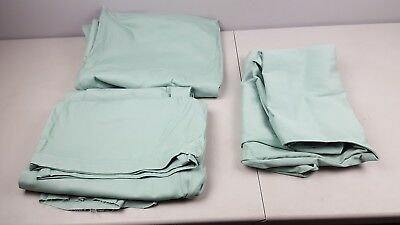 big and tall teal 6xl homemade home sewn clothes 2 pairs pants and 1 vest