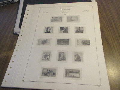 No-1--1986--1988  Germany  Album  Pages  --12  Pages  --Un-Used
