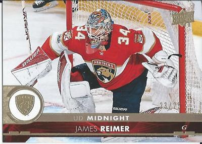 2017-18 UD Series 2 JAMES REIMER #331 Midnight 23/25 Toronto Expo 2018