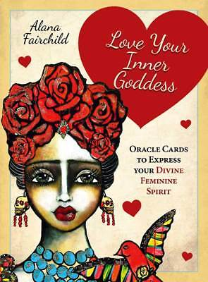 Love Your Inner Goddess Oracle Cards to Express Your Divine Feminine Spirit