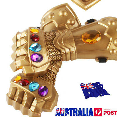 New Thanos Infinity Gauntlet Glove Cosplay Infinity War The Avenge Prop Gift MN