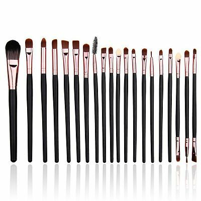 Pro 20pcs Makeup Brushes Beauty Eyeshadow Powder Eyeliner Lip Brush Kit Set Tool