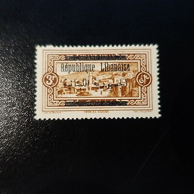 France Colony Grand Lebanon N°103 New With Original Gum