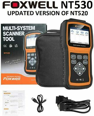 Foxwell Nt520 Pro Mercedes Benz Diagnostic Scanner Tool Airbag Abs Reset Nt510