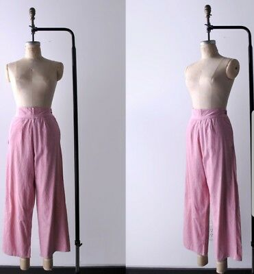 1940s womens high waisted pants