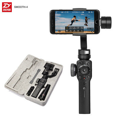 Zhiyun Smooth 4 Stabilizer Gimbal 3-Axis Handheld for iPhone Samsung Huawei AU