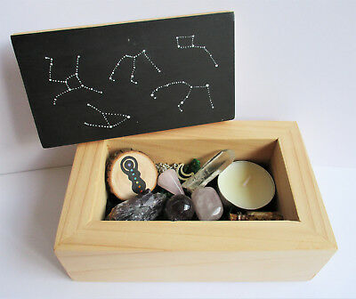 Constellation Altar Box - pagan altar tools wiccan kits gemstone collection