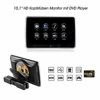 "1 x 10,1"" Digital Auto Kopfstütze Digital Touchscreen Monitor 1080p DVD HDMI SD"