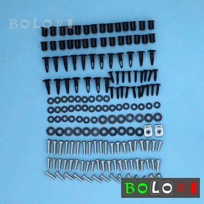 Motors Complete Fairing Bolts Kit Screw Fastener For Kawasaki Ninja ZX-10R 06 07