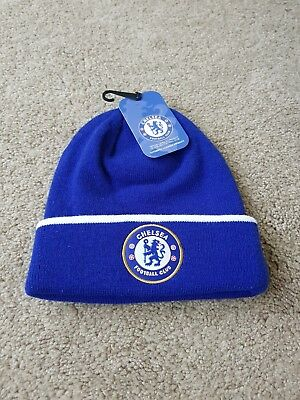 815063377d9 Chelsea Cuff Knitted Hat - Royal - Official Beanie Football Fc Hats Club Up