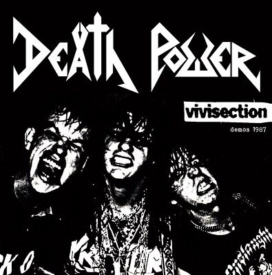 DEATH POWER - vivisection demos 1987 - CD 2017 - (The Ritual Prods) new mint