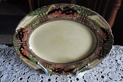 """Myott & Son Staffordshire """"England's Countryside"""" 1940's Vintage Serving Plate"""