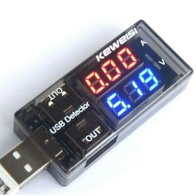 KEWEISI USB Charger Current Voltage Charging Detector battery Tester Volt m A8A7