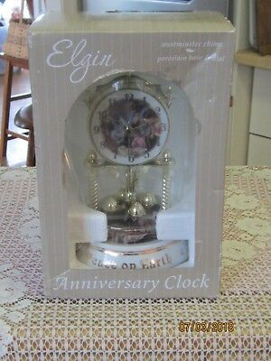 "Brand New in Box Elgin Collectible Anniversary PEACE ON EARTH 9"" Westminster"