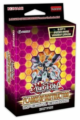 Yugioh Flames of Destruction Special Edition 1 Mini pack  Box preorder (saviors)