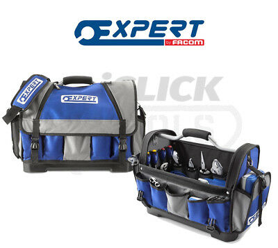 "Expert By Facom 20"" Soft Tool Bag with Rigid Base & Tote Cover E010601 New"