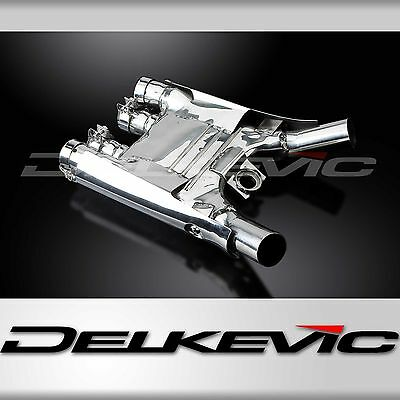 Delkevic Stainless Steel Collector Box Manifold Yamaha XJR1200 1995-1998