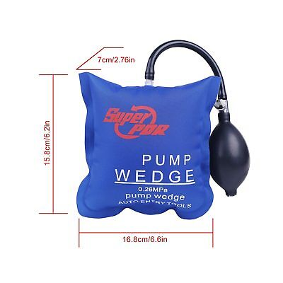 Inflatable Shim Air Pump Wedge Open Pry Car Doors Windows Automotive Entry Tool