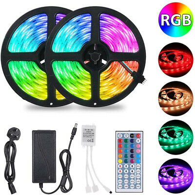 1~30M 5050 Rgb Led Strip Lights Colour Changing Tape Cabinet Kitchen Lighting