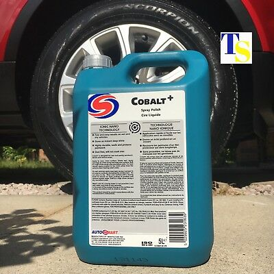 Autosmart Cobalt + 5 Litre 5L (Versatile Spray Polish for cars TRADE VERSION)