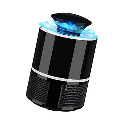 Electric Fly Bug Zapper Mosquito Insect Killer Pest Control Light Trap black