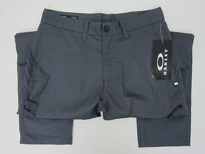 f80e6b561c7bc OAKLEY MEN'S FORGED Iron Icon Chino Pants 32x32 Grey NWT - $42.59 ...
