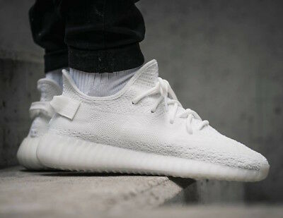 buy popular c6637 e2405 ADIDAS YEEZY BOOST 350 V2 Triple White Cream CP9366 UK 3 4 5 6 7 8 9 10 11  12 US